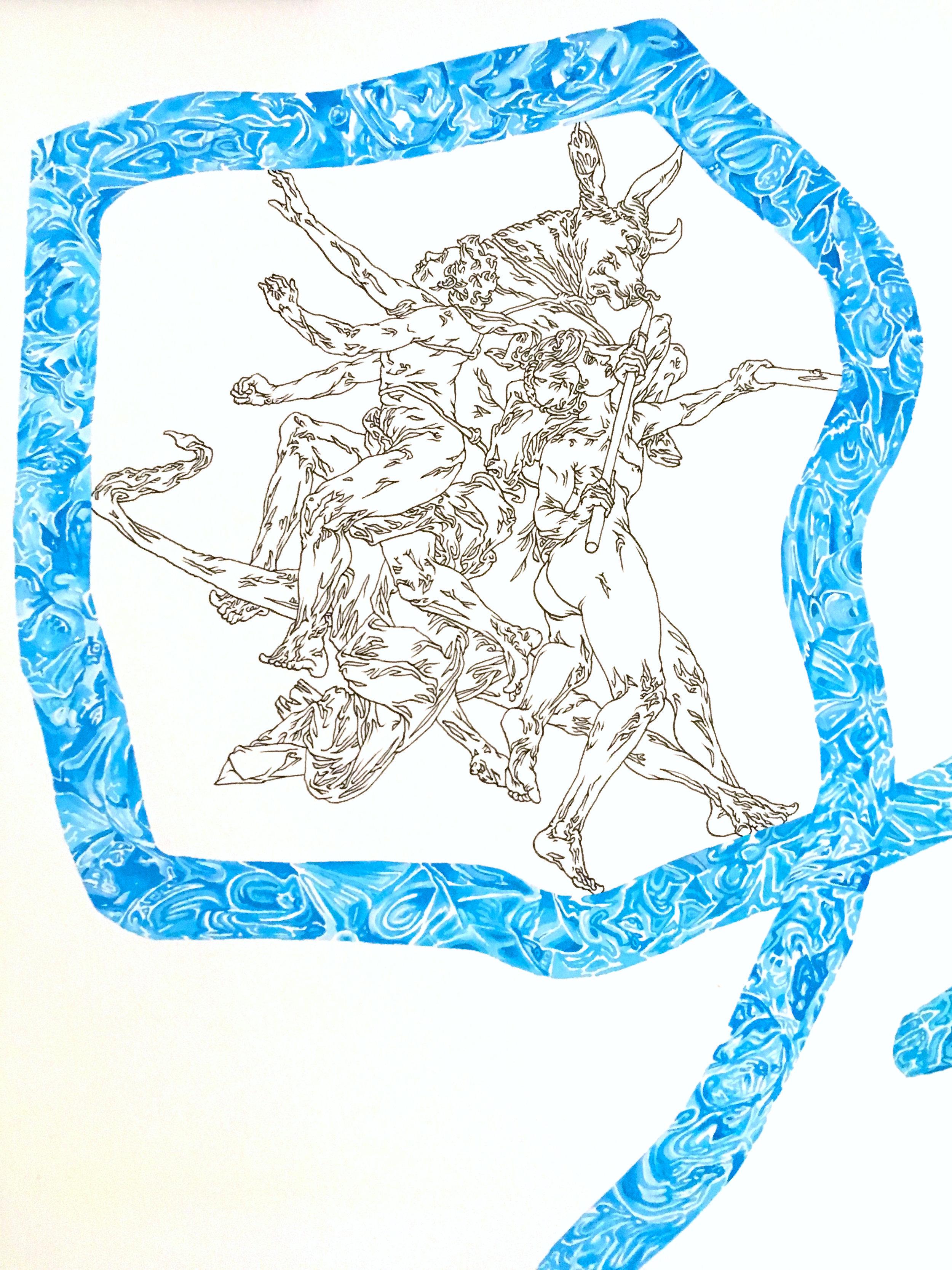 """""""Line Harvest"""" detail"""