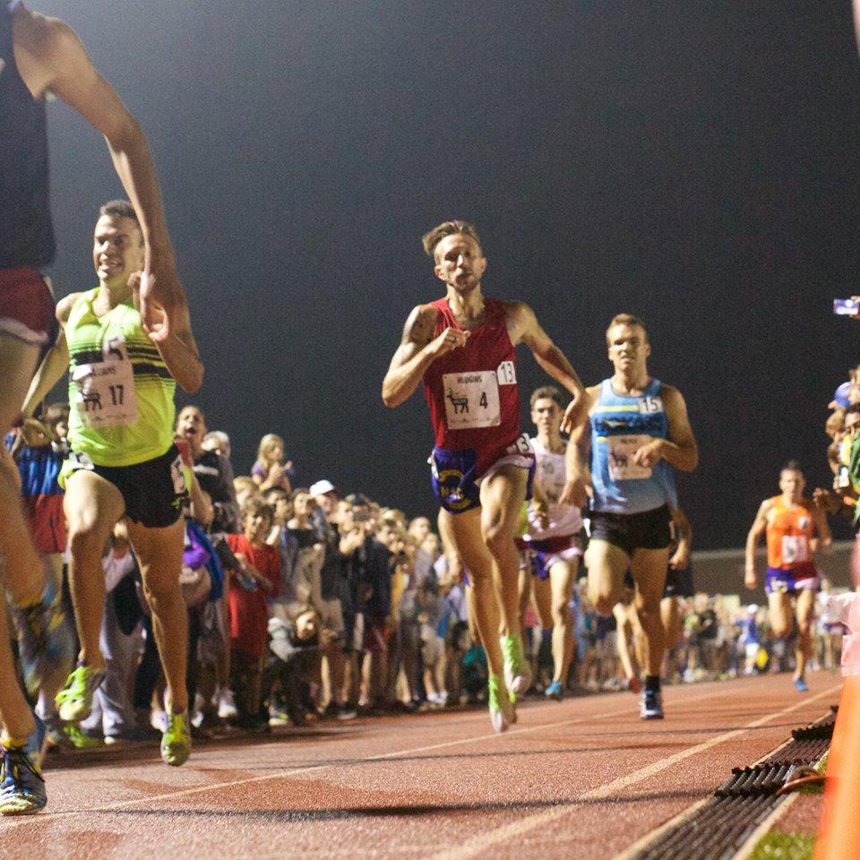 Watch Brandon's 1st Sub 4 Mile