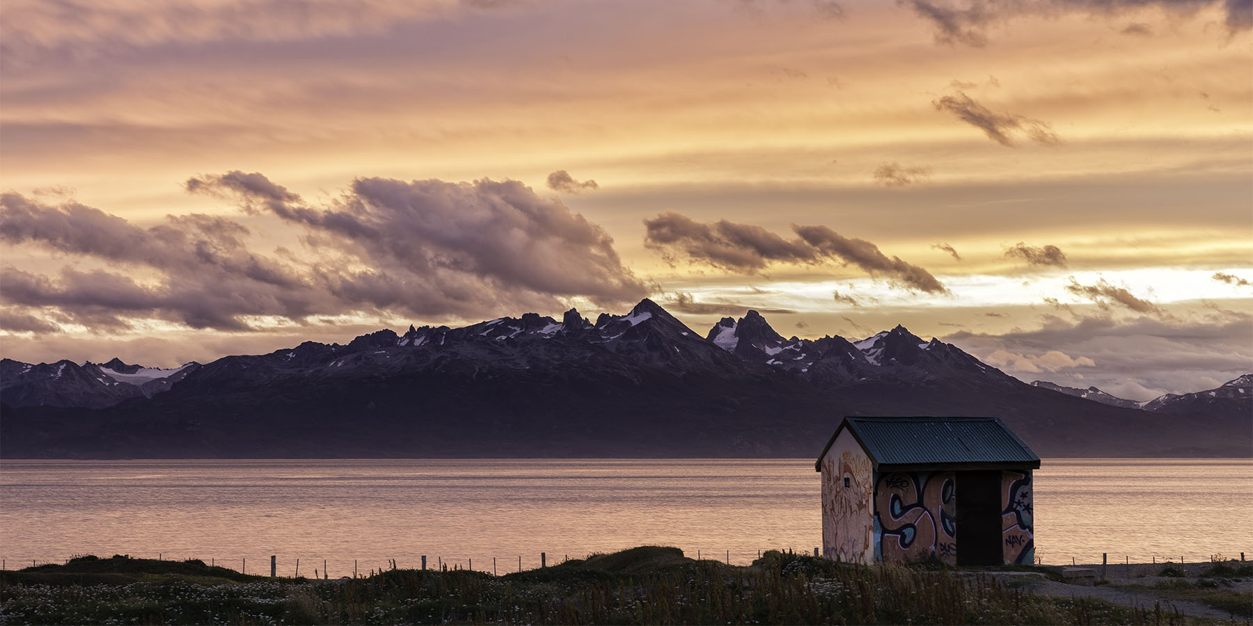 Beagle Channel Sunset - Ushuaia