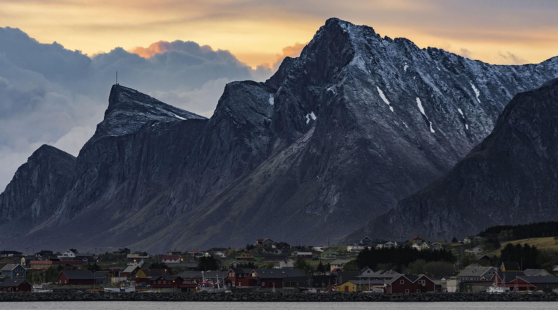 Midnight Sun - Ramberg, Lofoten, Norway