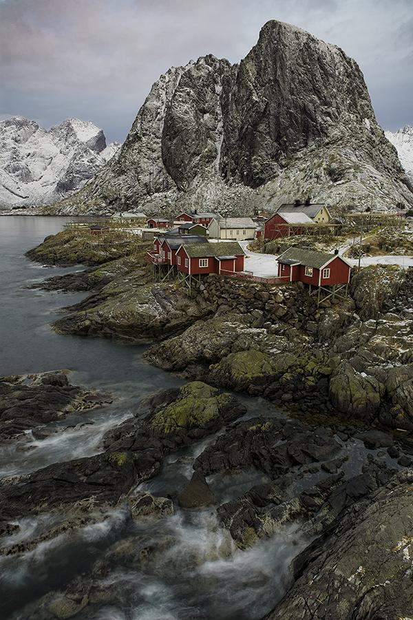 Winter in Hamnoy, Lofoten, Norway