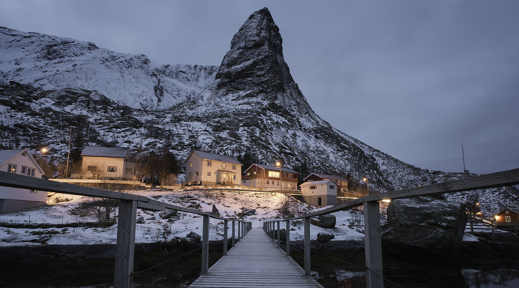 Reine bridge - Lofoten Islands, Norway