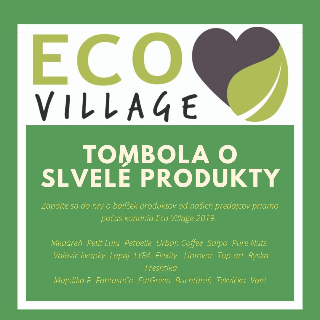 Tombola počas eventu Eco Village 2019 - Priamo počas eventu sa budete môcť zapojiť do tomboly o skvelé ceny od našich predajcov. Do tomboly venoval poukazy - menu pre dve osoby aj partner podujatia FRESHTIKA.
