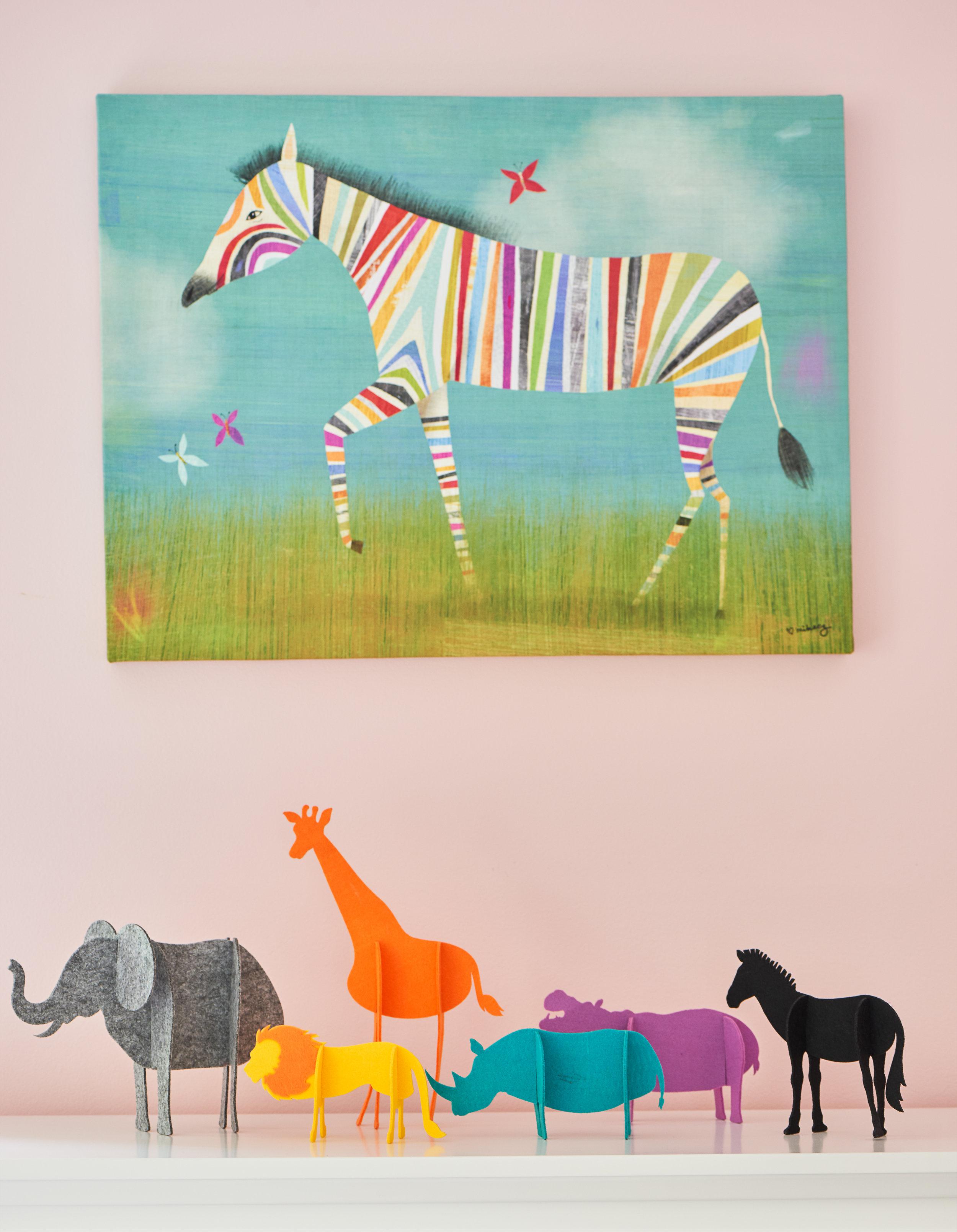 Children's art and bedroom accessories