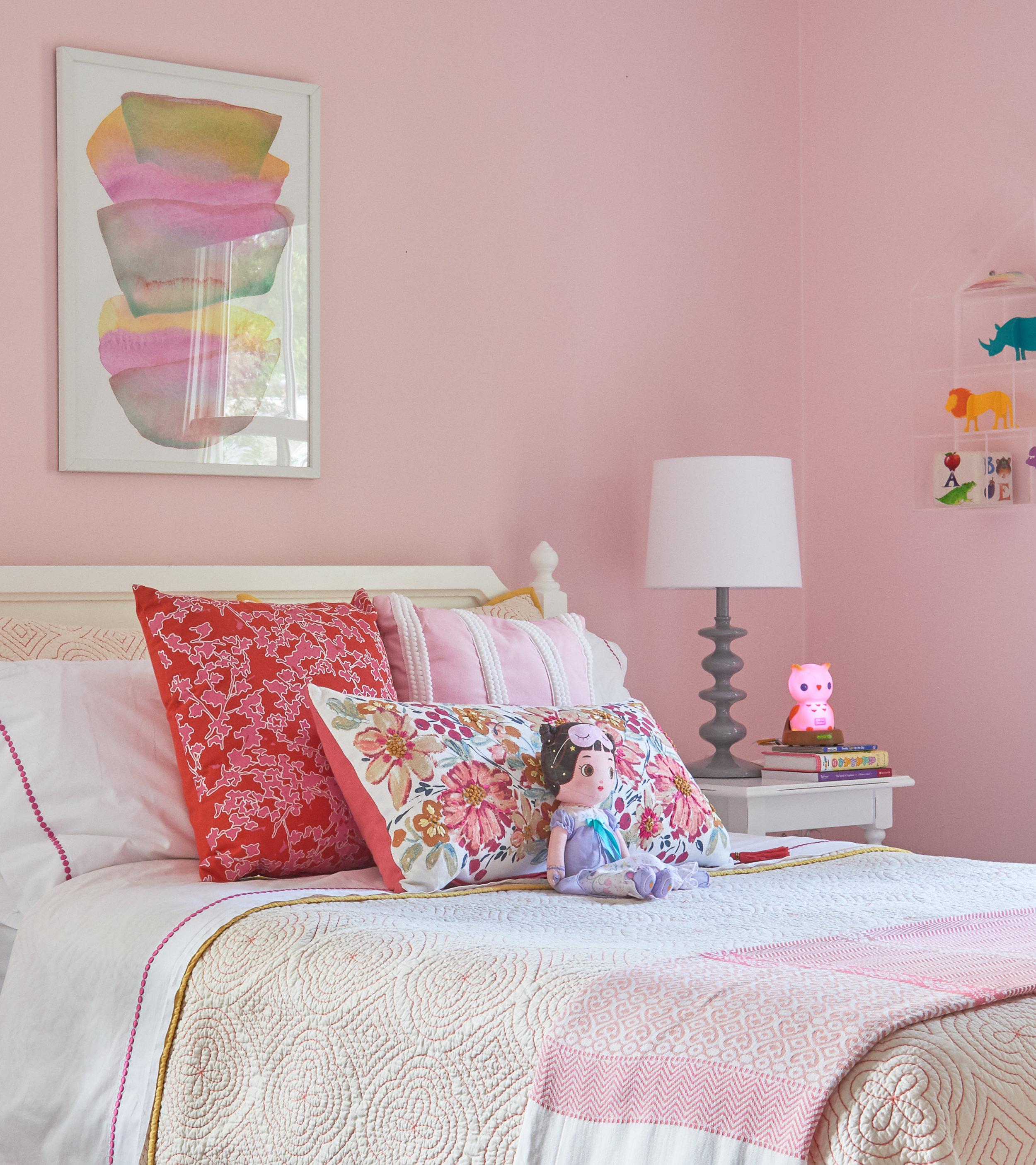 Pink hues