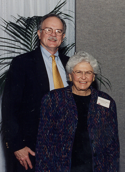 1996 Eureka Communities President Steve Vetter (left) and founder Deborah Szekley (right)
