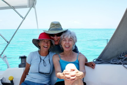 Caribbean sailing fun