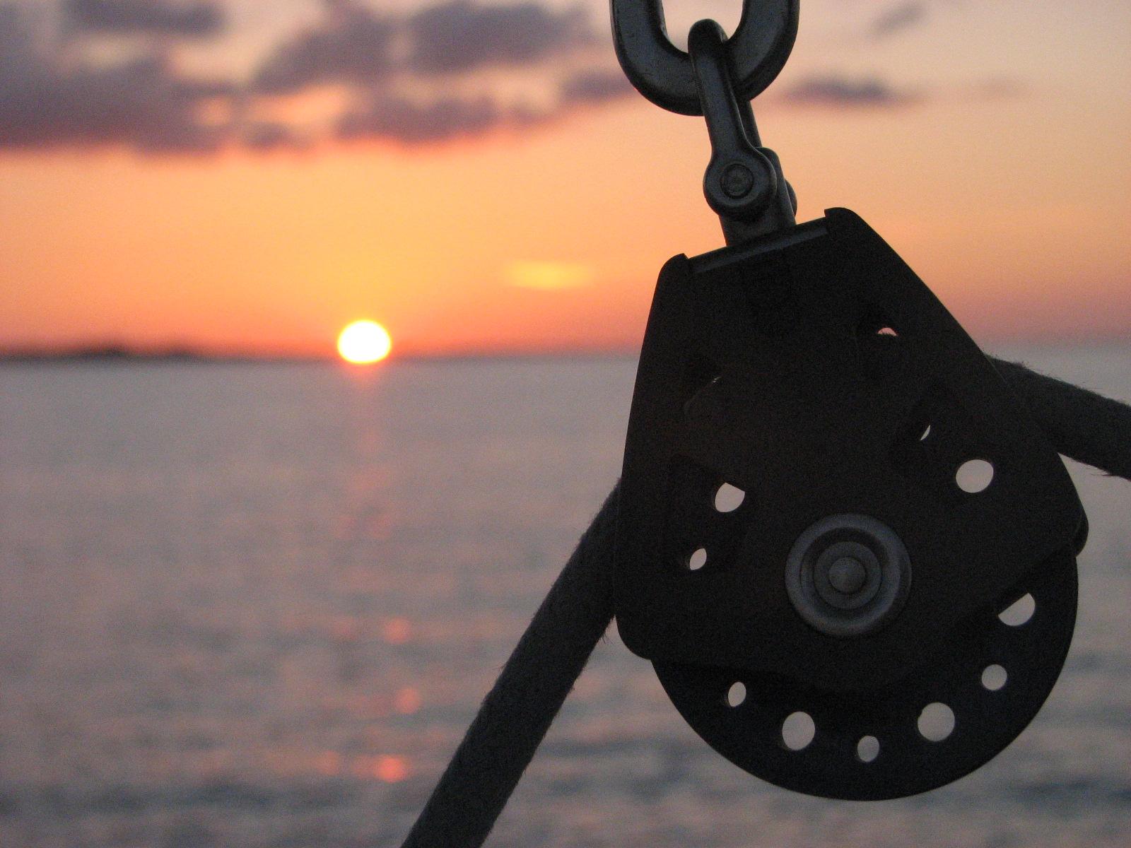 Lightheart at Sunset