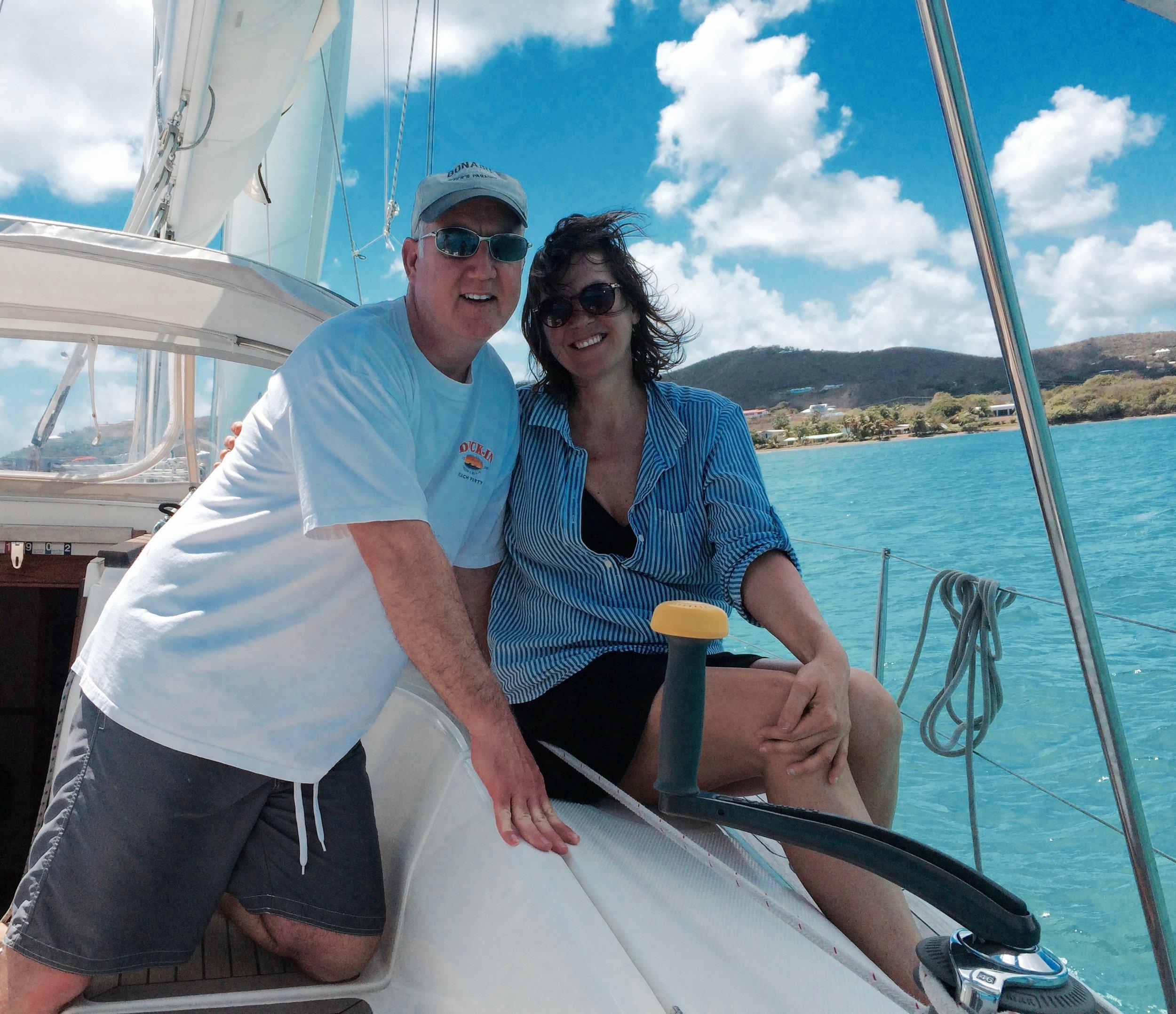 Happy Caribbean Sailing