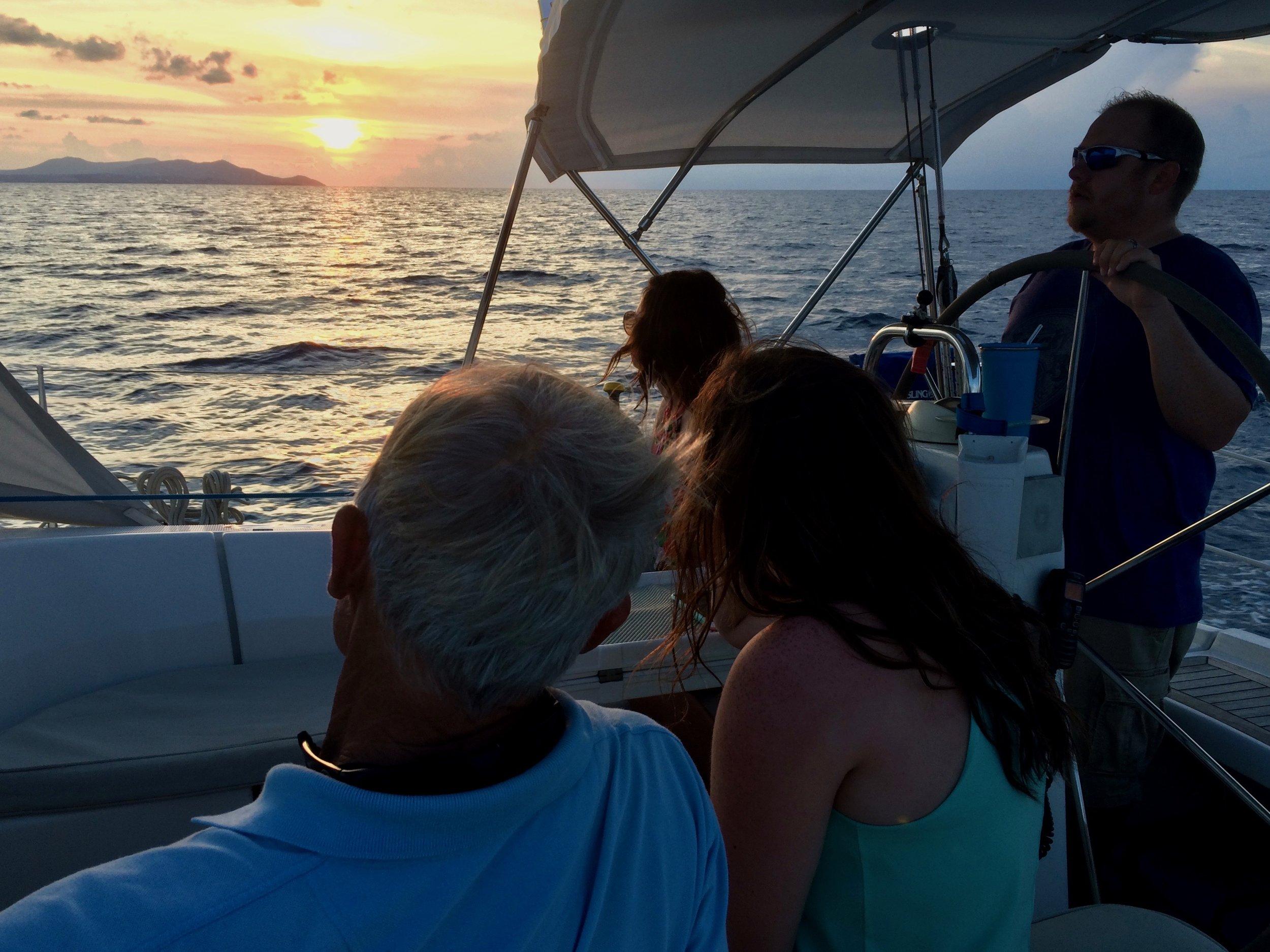 Lightheart Sunset Sail