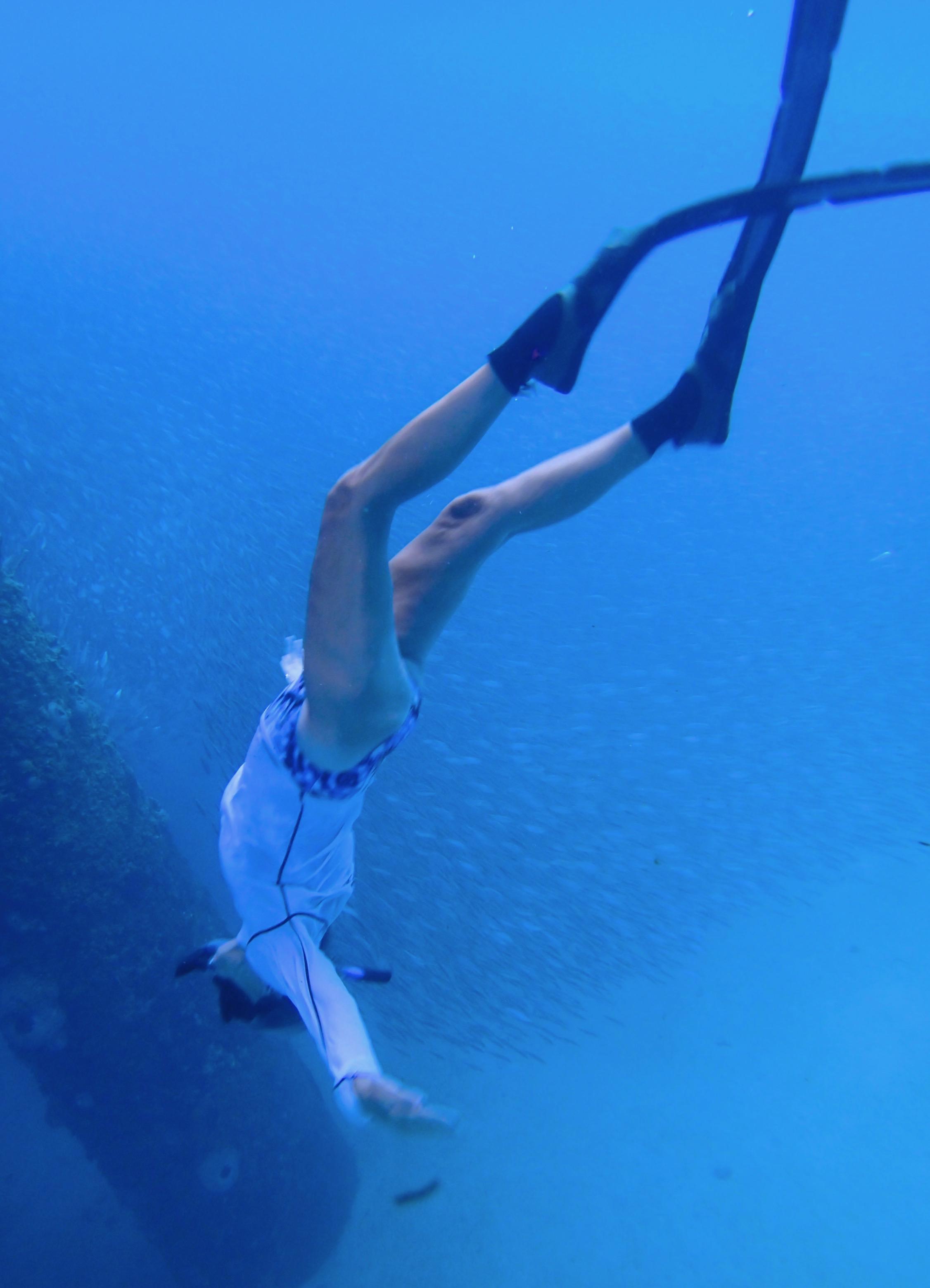 Lightheart free diving