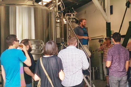 Custom Boutique Craft Beer Brewery Tastings