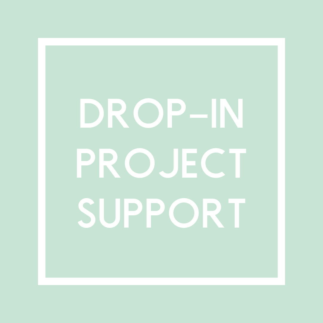 Stop in the shop for a little help or questions on a specific project you're stuck with anytime between 11 am and 5 pm today! Have a project you've started in a class and just need a little boost to get back on track? Come on by and get the help you need.