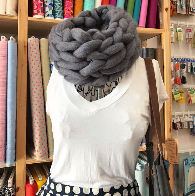 I'm taking over @thesalvagedboutique Instagram account today. That's where I'm teaching my first class this fall (Arm Knit Cowl Workshop). Pop over and give them a follow and see what I'm up to there.