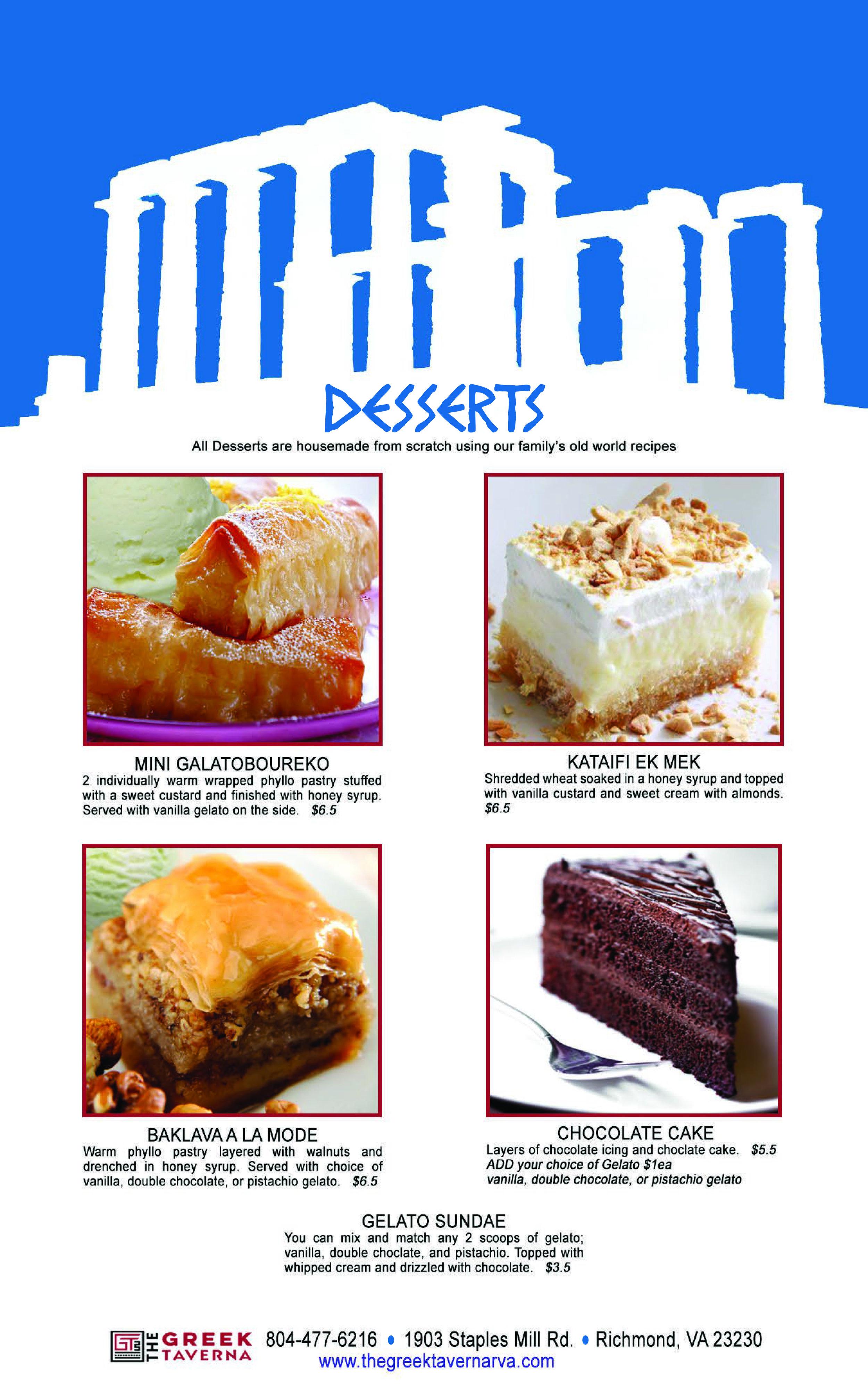 GT Desserts
