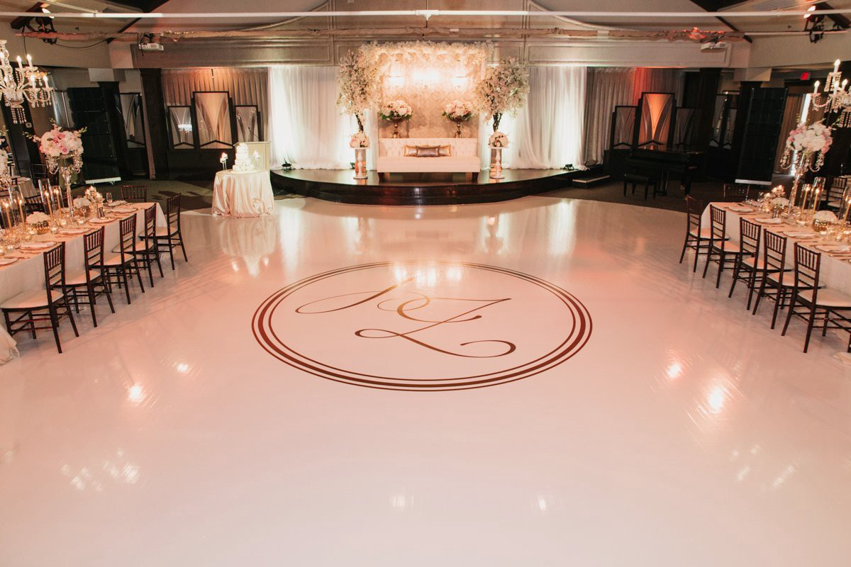 Monogram Dance Floor