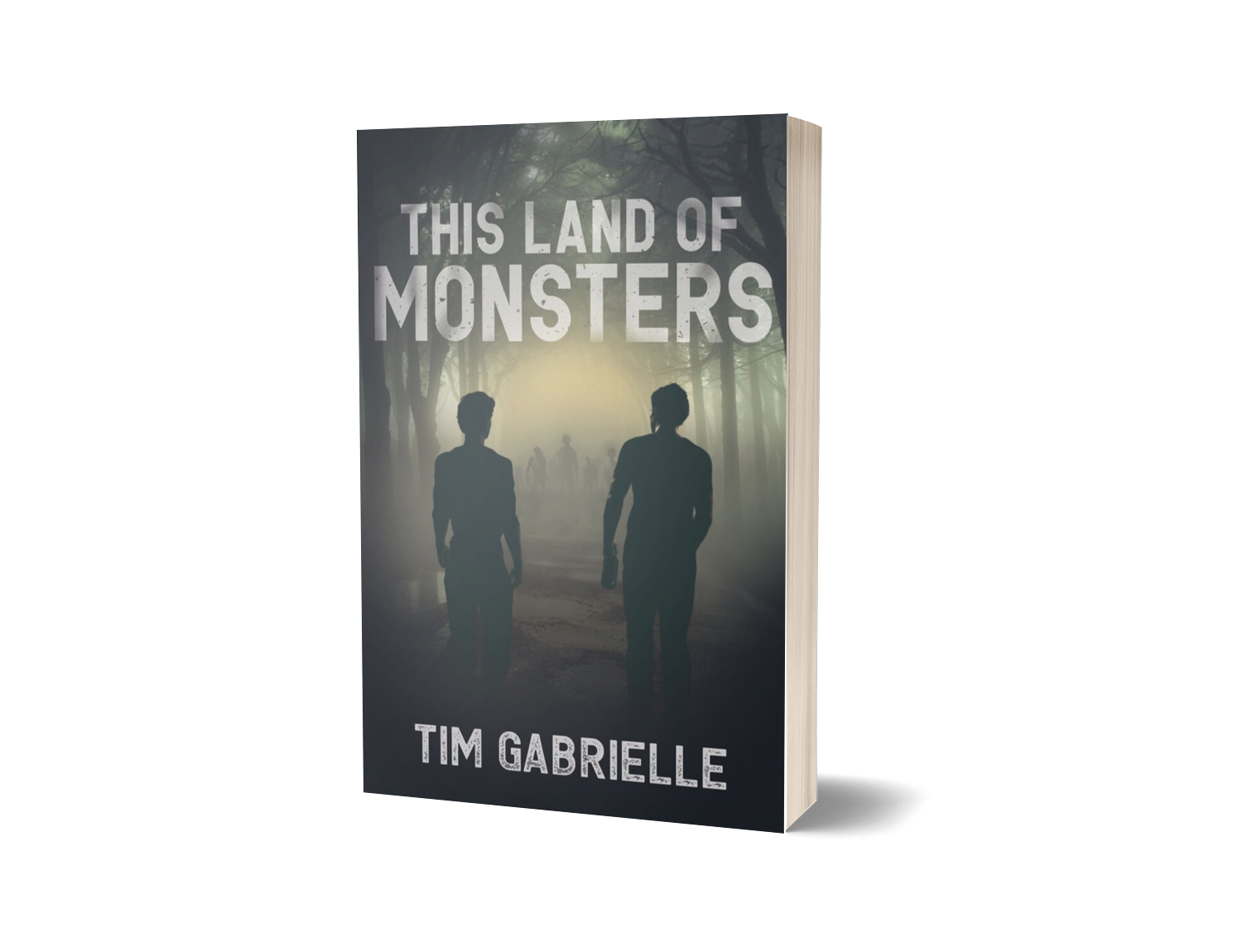 THIS LAND OF MONSTERS (click HERE for purchase)       It's bad enough his mother is  DEAD .  Even worse — he's been left alone with his abusive, alcoholic stepfather, Duncan.  When an apocalyptic outbreak of a highly infectious disease wipes out most of humanity, seventeen-year-old Nash must avoid being killed by the victims of the outbreak, blood-thirsty monsters called Howlers.  After a routine scouting mission, Nash and Duncan stumble upon a hidden sanctuary in the woods where Nash finds the acceptance and love he's been searching for since the world ended. But when a mysterious cult leader overruns his new home, Nash and his newfound family must bend to his will or organize a rebellion.  With enemies both inside and outside the fence, Nash and his family must fight for their freedom, and their lives.     CLICK HERE FOR THE TRAILER