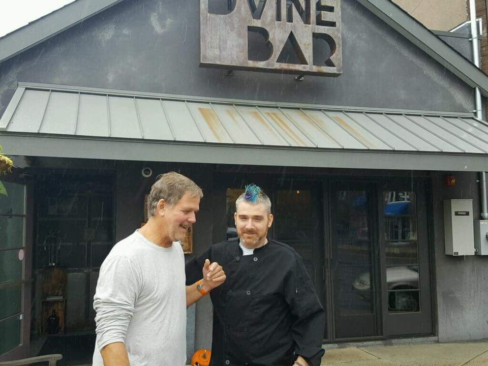 With Restaurateur, Joe Printz