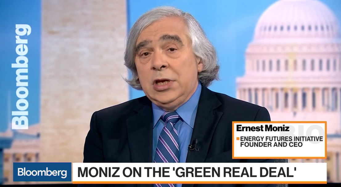 Moniz on Bloomberg TV