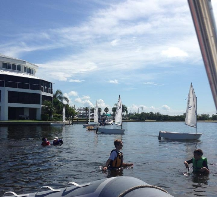 Summer Learn to Sail Coach - Learn More
