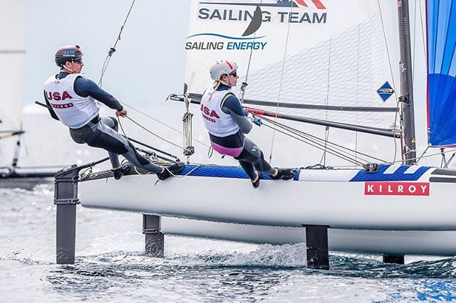 Not our best racing here in Palma, but we've learned from our mistakes and are ready to go again next week at Sailing World Cup | Genoa, ITA. Thank you to all of our supporters. We couldn't do this without you! 📸 @sailingenergy @laurensmorel
