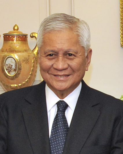 Albert Del Rosario, former Philippine Foreign Affairs Secretary