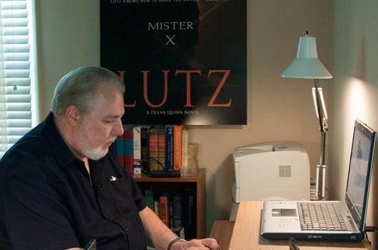 John Lutz at work