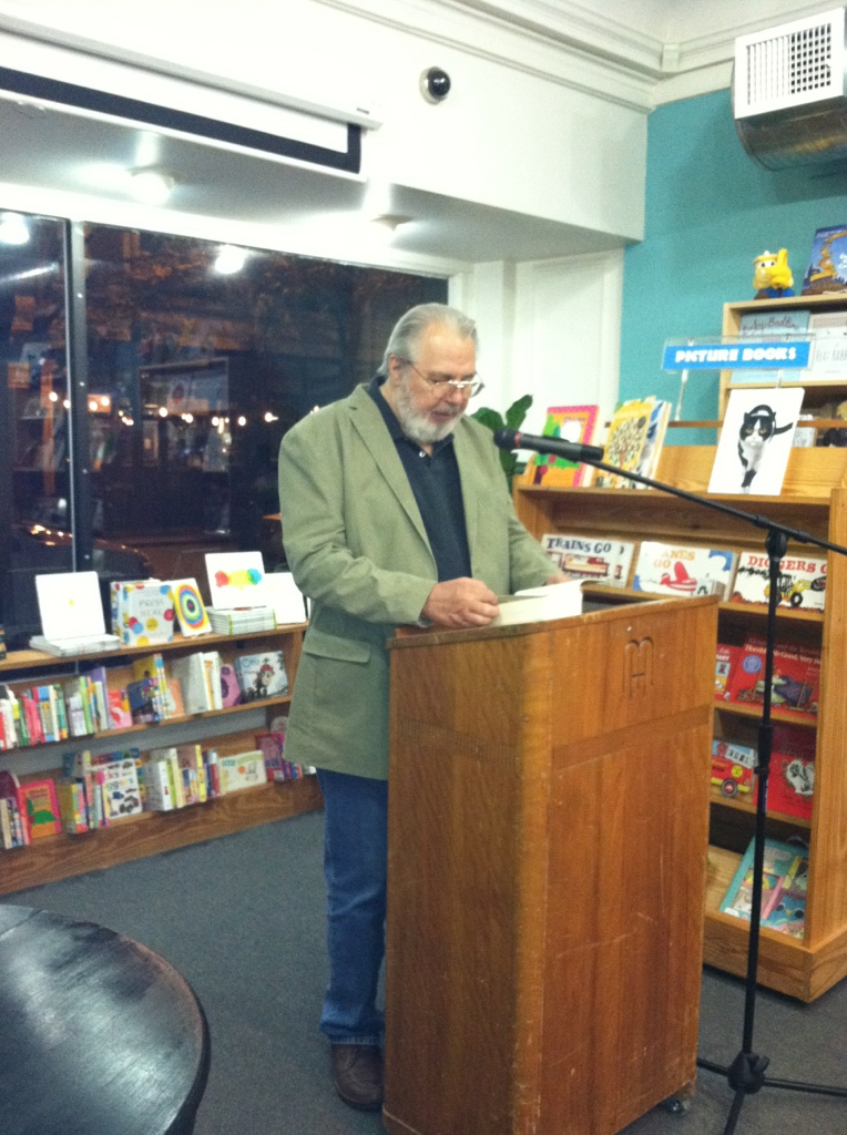 John Lutz book reading