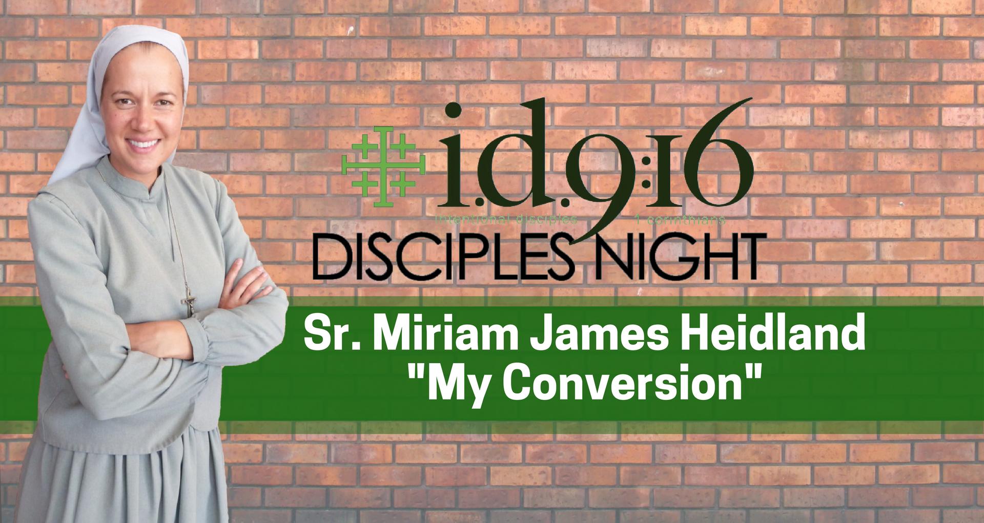 April 2018 Disciples Night_ Sr. Miriam James (2).png