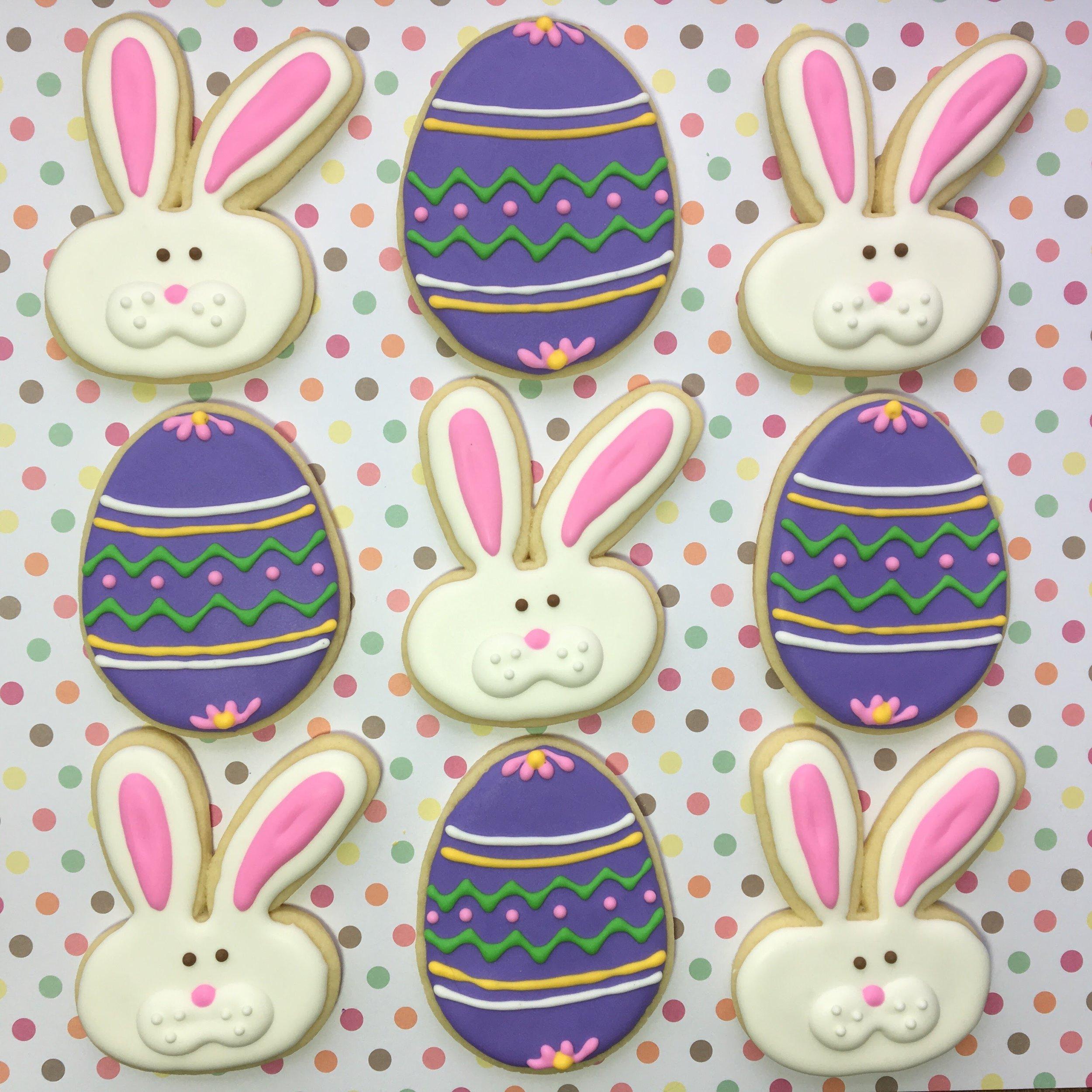 Custom Easter Sugar Cookies