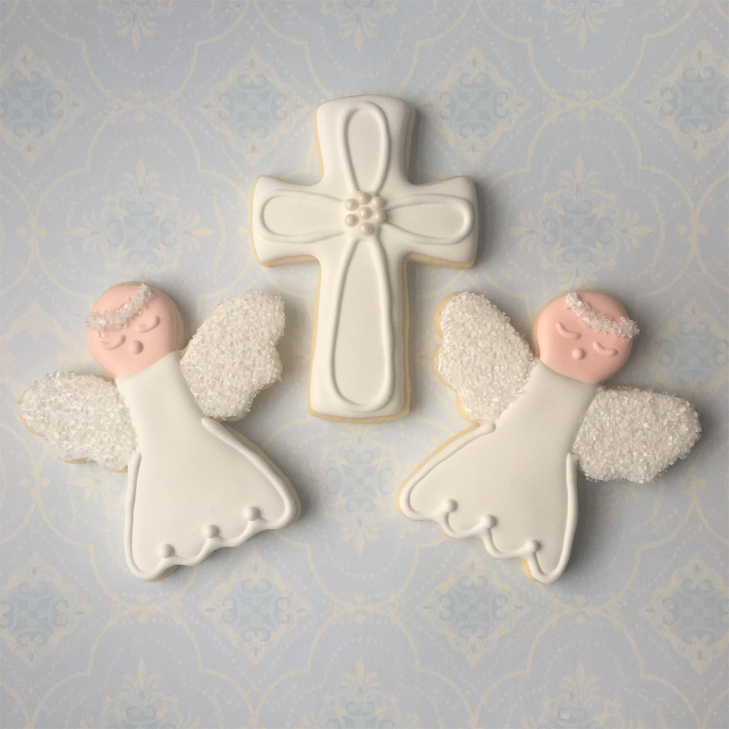 Custom First Communion Sugar Cookies