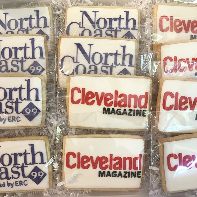 Logos ❤️ Logos ❤️ Logos #logocookies #logodecoratedcookies #baking #sugarcookies #cookies #decoratedcookies #decoratedsugarcookies #edibleart #customcookies #cookieart #cookiedecorating #cookiesofinstagram #instagood #royalicing #thisisCLE #CLE #mksweetsco