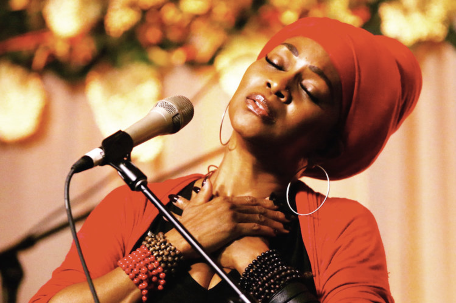 "C.C. White's concerts have won her worldwide recognition as ""The Queen of Soul Kirtan,"" enrapturing audiences like no other. Her critically acclaimed CD ""This IS Soul Kirtan!"" debuted at the top of the iTunes World Chart & is the first of its kind to feature a blend of Kirtan, Soul, Blues, Reggae, Gospel, R&B and Jazz. She's worked with Lenny Kravitz, Sting, Neil Young, Ben Harper, Charlie Musselwhite, Jackson Browne, Crosby, Stills & Nash, Joe Cocker, and Jason Mraz to name a few. Get ready for soul-freeing, foot-stomping, heart-opening Soul Kirtan!   www.soulkirtan.com"