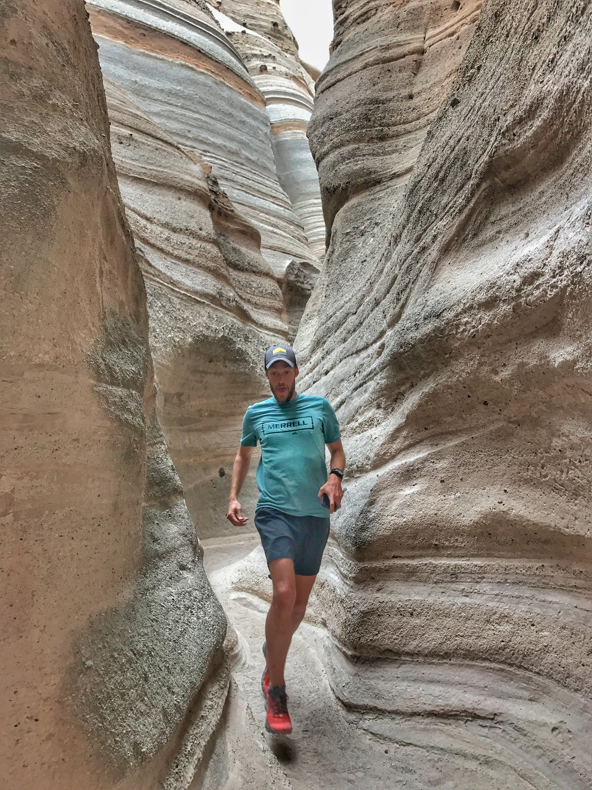 Kasha Katuwe Tent Rocks National Monument was the most surprising to us! Such a cool place, very quiet, tucked into the middle of no where New Mexico. Rock formations and slot canyons. We were so glad we went out of the way to see this one (although there was no Junior Ranger program).