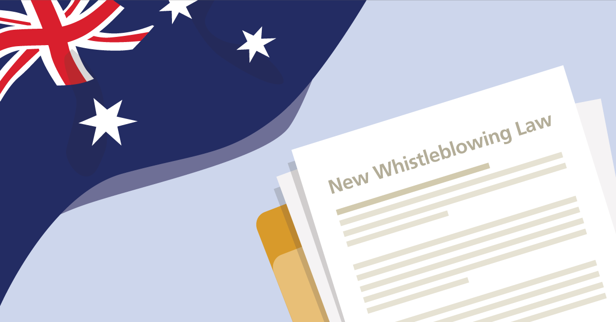 Australia's new whistleblowing law - how to get ready?