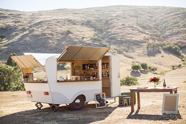 Whiskey and June Bar Service Trailer San Luis Obispo County