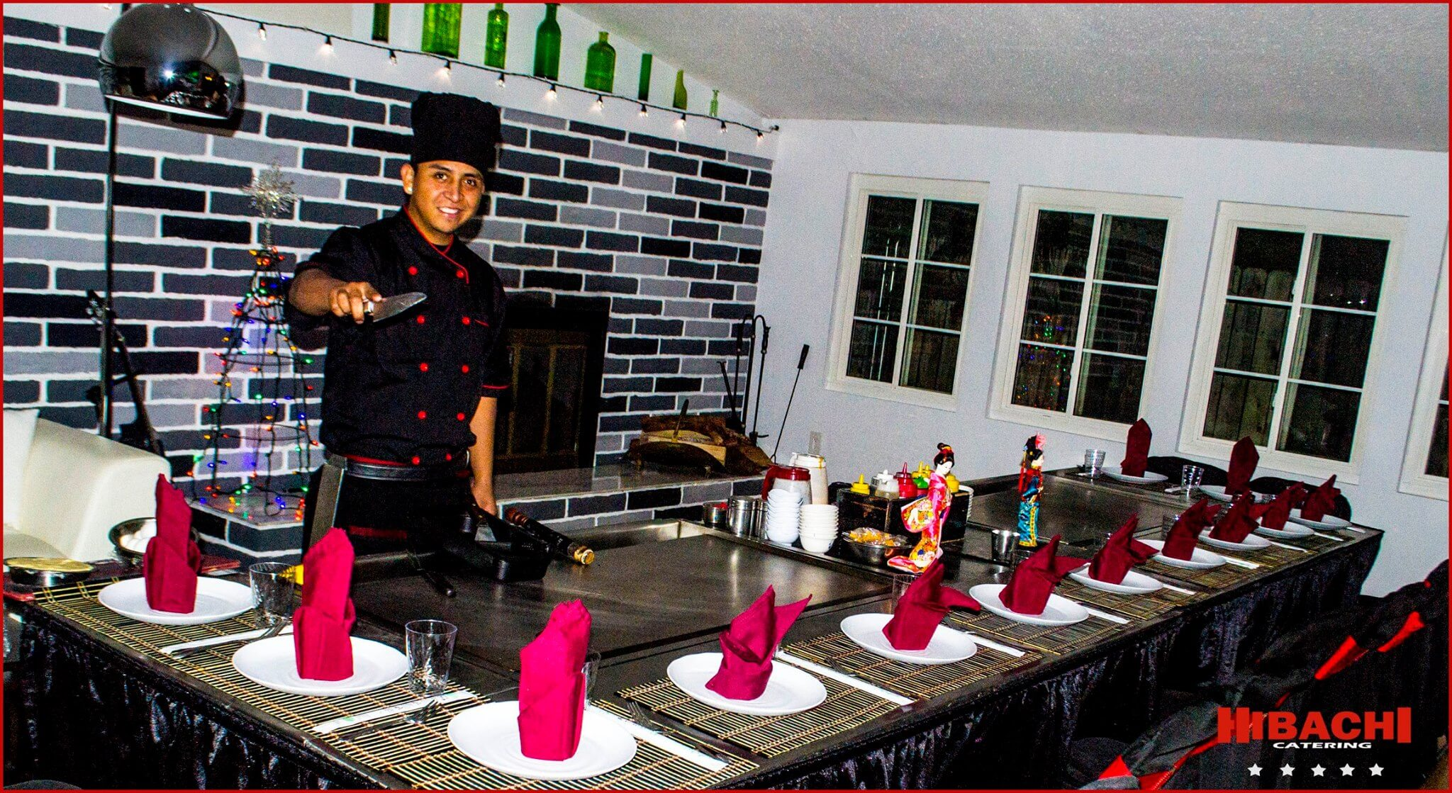 hibachi catering