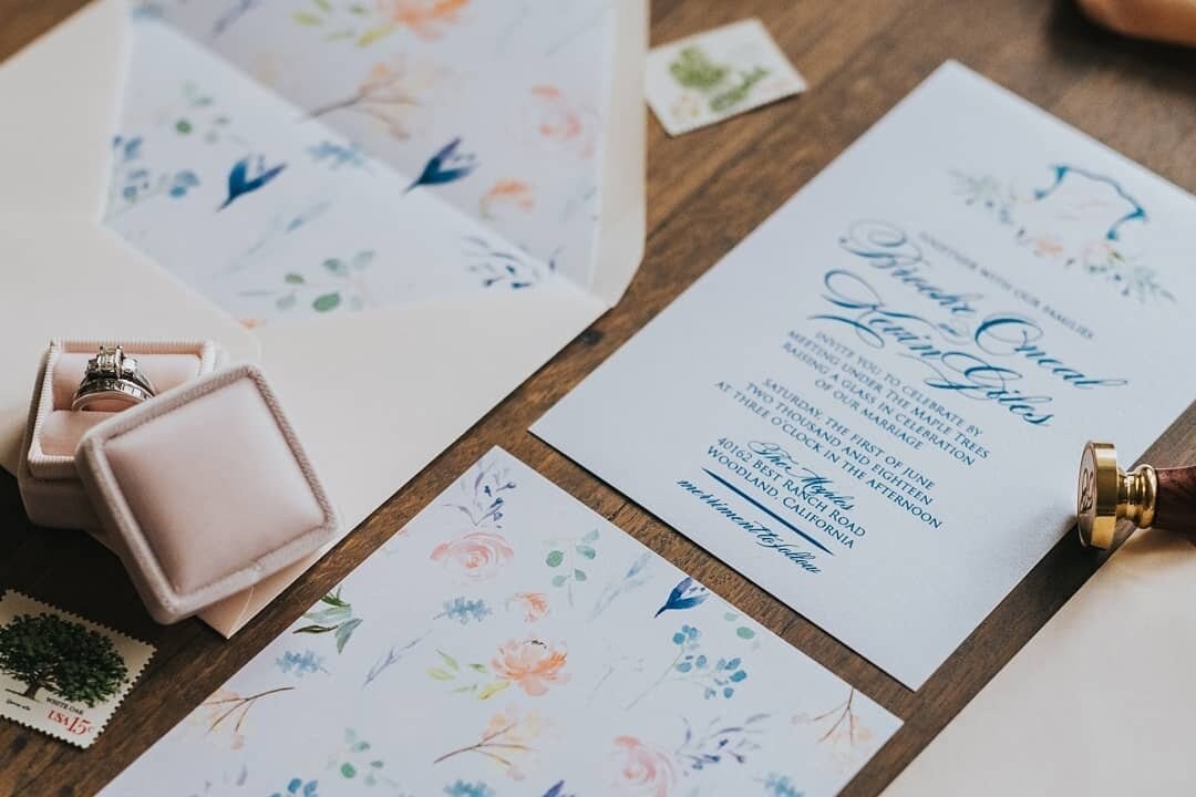 blush and birch paper