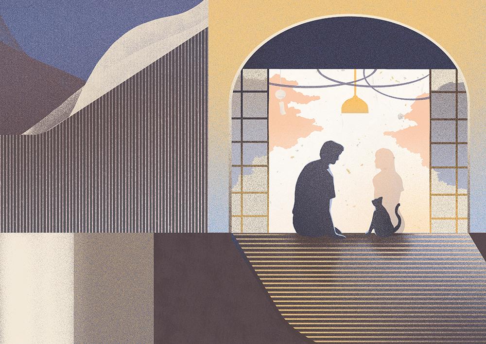 Norwegian Wood, Book illustration