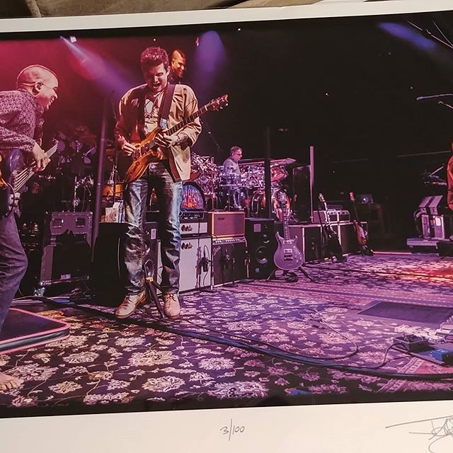 New release available! #deadandcompany. #johnmayer #oteilburbridge #bobweir #mickeyhart photo taken by #jayblakesbergphotography #woodstockartistcollective #wac