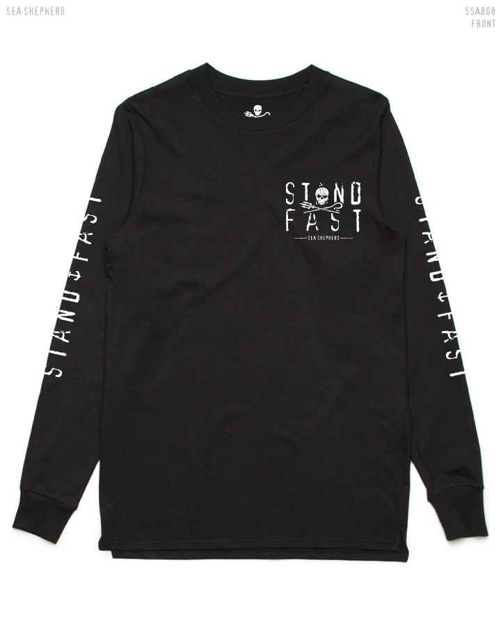 Black Long-sleeve Tee