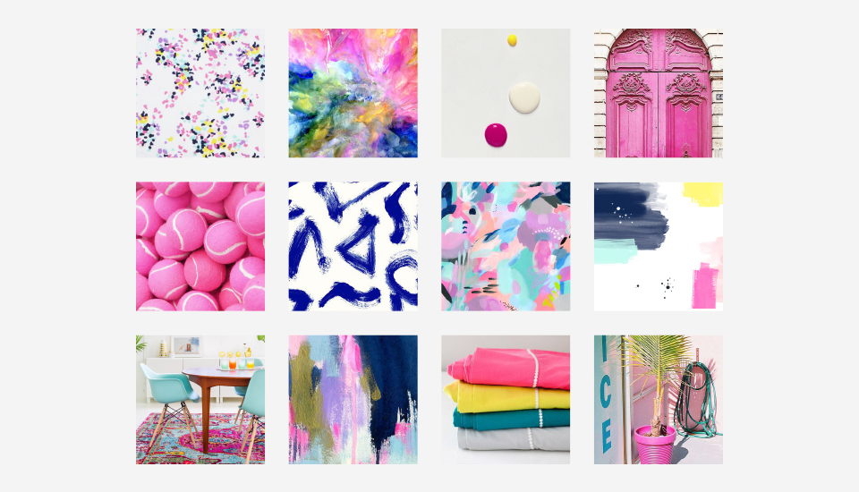 Check out the beautiful moodboard for my website redesign!
