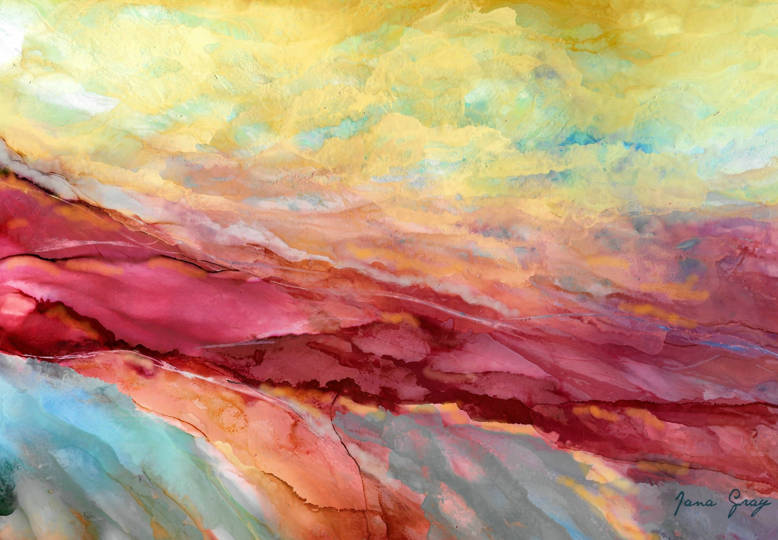 Alcohol ink brilliant landscape 001.jpg