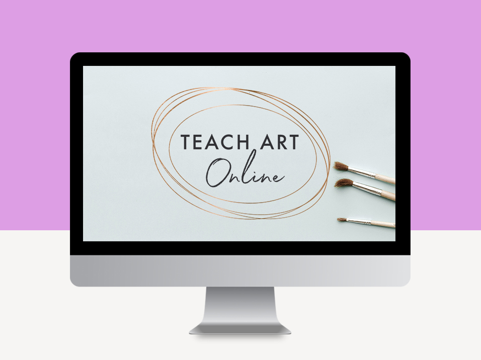 teach art online e-course masterclass & blueprint