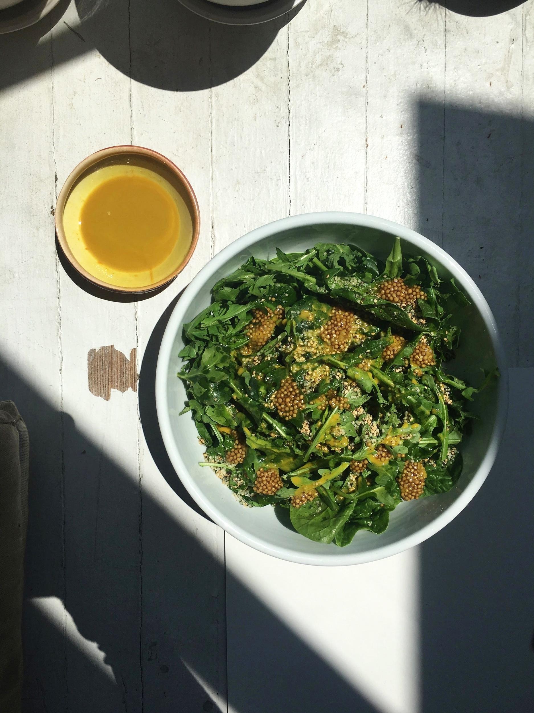 bitter-greens-salad