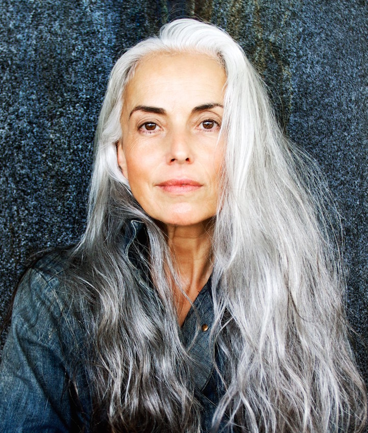 Though you can really rock your gray hair in all it's beauty! Image: Pinterest