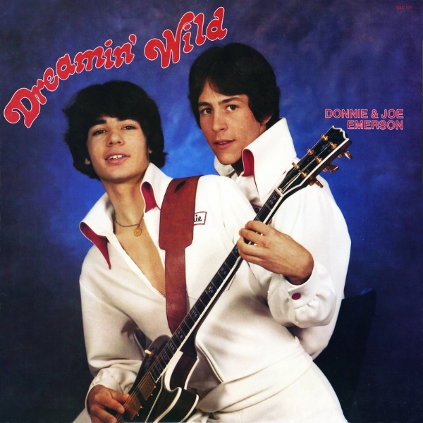 How can you not listen to a record with this cover? In 1977, Donnie and Joe were 17 and 19. The jumpsuits were Donnie's idea.