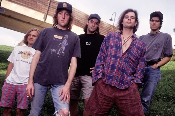 The band during its heyday, circa 1993.