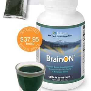 - This stuff has the perfect nutrients and it helps clear brain fog!
