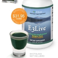 - E3Live provides over 65 vitamins, minerals, amino acids and essential fatty acids
